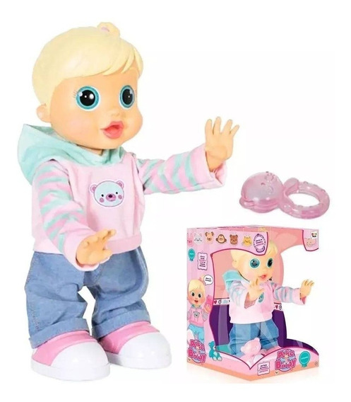 Boneca Interativa Baby Wow Malu Br580 Multikids