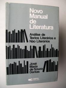 Livro Novo Manual De Literatura