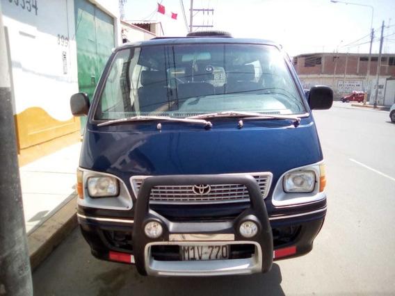 Toyota Hiace Año 2000 Motor 2l