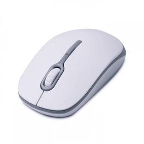Mouse Óptico Soft Branco/cinza 1200dpi - Maxprint