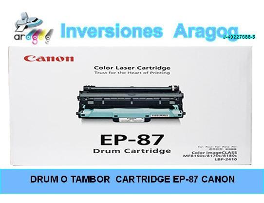 Drum O Tambor Cartridge Ep-87 Canon/original