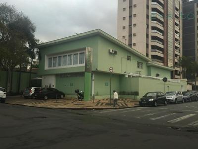 Prédio Comercial Para Locação, Cambuí, Campinas. - Pr0019