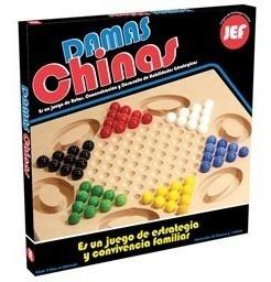 Damas Chinas De Madera Diako Jef Juegos De Mesa
