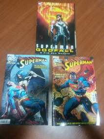 Gibi Superman Godfall + Superman Número 34 E 39 Dc Comics