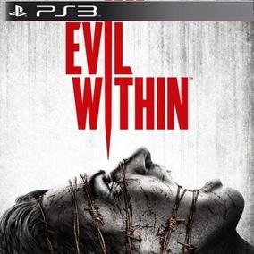 The Evil Within Ps3 Psn Comprou Chegou Promoção Jogo Terror