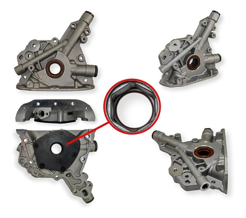 Imagen 1 de 2 de Bomba Aceite Chevrolet Corsa 1.0 1.4 1.6 8v