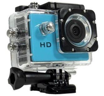 Câmera Sport Que Filma E Fotografa Inclusive Embaixo Da Água