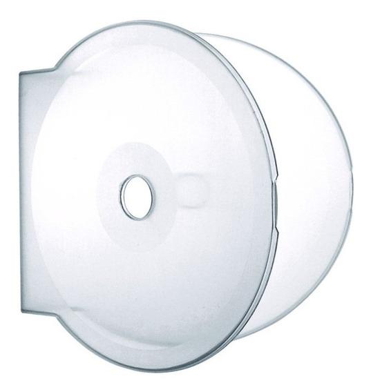 150 Box Estojo Case Dvd/cd Capa Transparente Bolacha