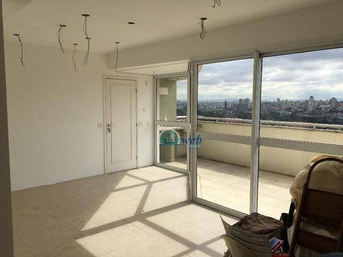 Cobertura Duplex Com 4 Dormitórios À Venda, 240 M² Por R$ 1.100.000 - Casa Branca - Santo André/sp - Co0795