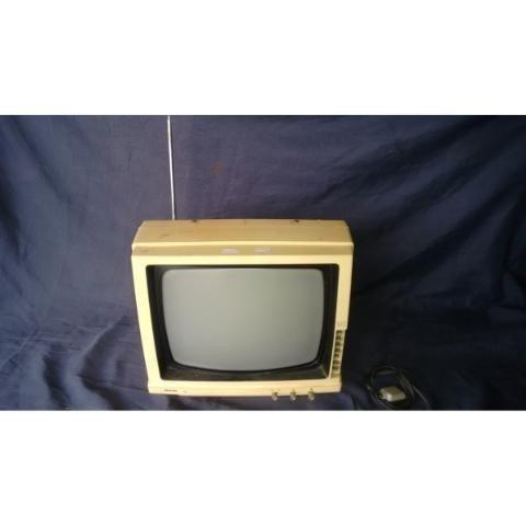 Tv Televisão 12 Philips Funcionando Antiga Retro Vintage
