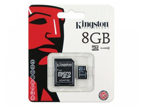 Cartao De Memoria Classe 4 Kingston Sdc4 8gb Micro Sd 8gb Co