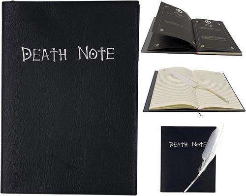 Death Note Libreta + Pluma + Cd Ost Live Action Serie Anime