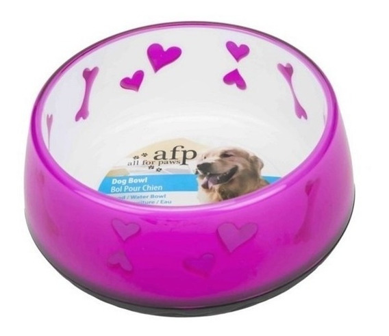 Comedouro Cachorro Filhote Ou Pequeno Porte 300ml Afp Antibacteria Antiderrapante