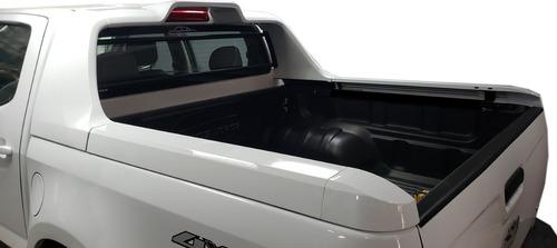 Barra Plastica Aleron High Country Bepo Blanco Chevrolet S10