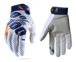 Luvas Ciclismo Motocross Trilha Moto Ridefit Gloves 100%