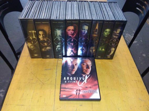 Arquivo X Dvd Temporadas 1 A 8 + Filme - Serie Chris Carter
