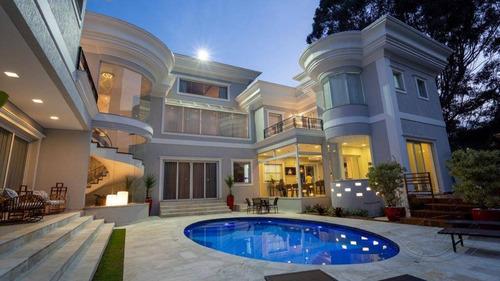 Casa À Venda, 1200 M² Por R$ 14.800.000,00 - Alphaville - Santana De Parnaíba/sp - Ca0377