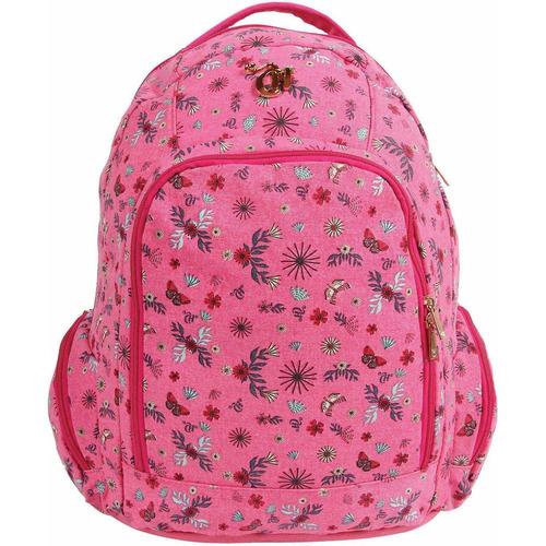 Imagem 1 de 1 de Mochila Escolar Capricho Liberty Vi Pink Dermiwil
