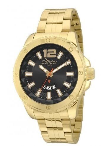 Relógio Dourado Condor Masculino Co2115wx/4p
