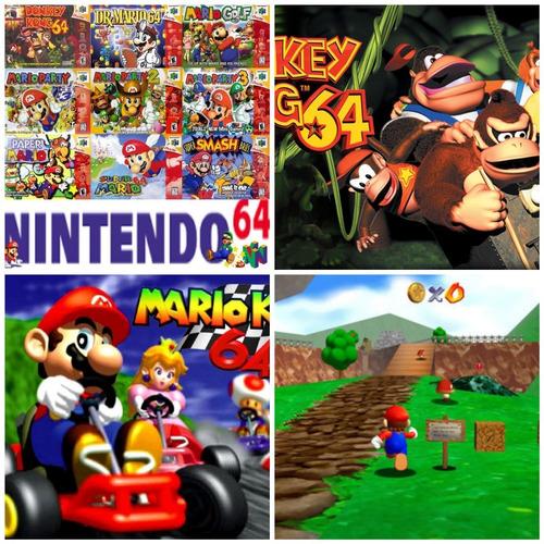 Pack + 105 Juegos Nintendo 64 Emulador Pc +guía  Paso A Paso
