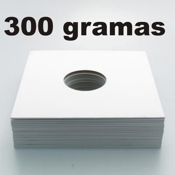 15 Capas Brancas Vinil Lp 12 + Plasticos Internos 0,06