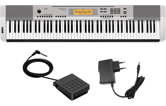 Piano Digital Casio Cdp230 88 Teclas Fonte + Pedal Sustain