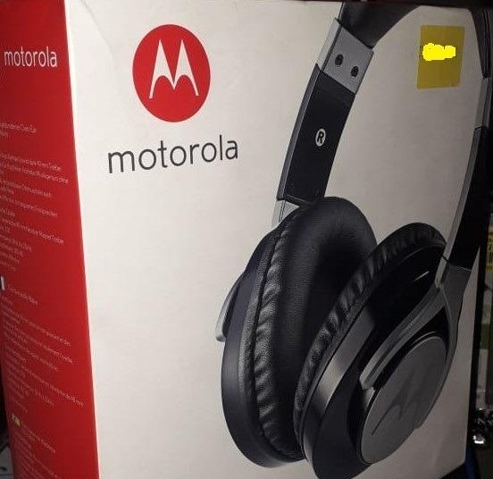 Fone Motorola Pulse Max Over Ear Com Fio P2 - Promoção
