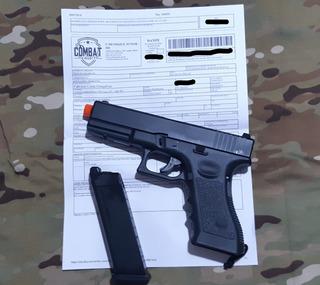 Pistola De Airsoft Gbb Glock R17 Army