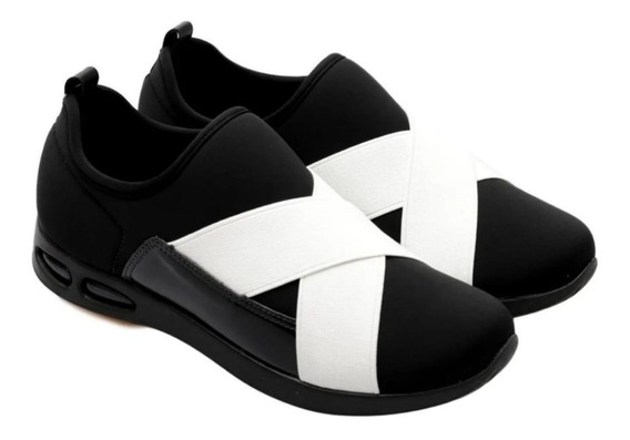 Zapatillas Mujer Piccadilly Neopren Elastico C. Aire 979002