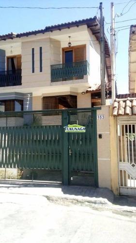 Casa À Venda, 130 M² Por R$ 500.000,00 - Chácara Do Vovô - Guarulhos/sp - Ca0212