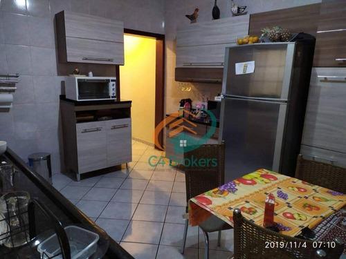 Casa Com 2 Dormitórios À Venda, 125 M² Por R$ 320.000,00 - Jardim Santa Lídia - Guarulhos/sp - Ca0218