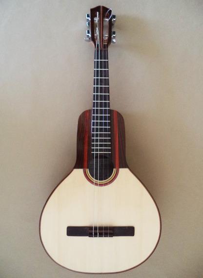 Bandola Llanera De Luthier, Tipo Profesional, 15 Trastes.