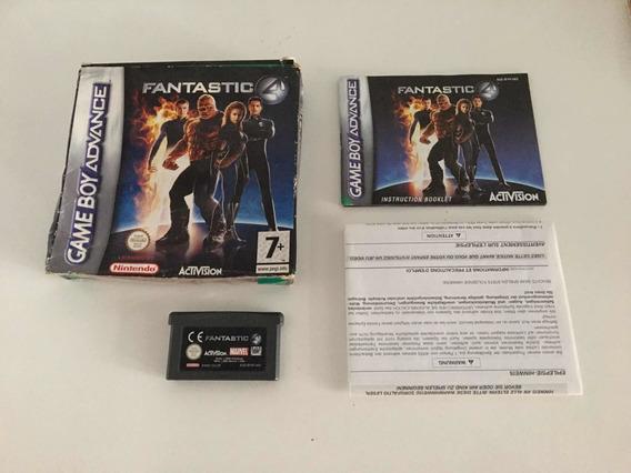 Quarteto Fantâstico Completo Game Boy Advance Imperdivel ..