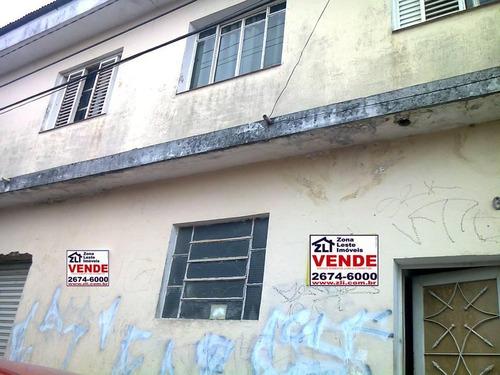 Casa Residencial À Venda, Vila Santa Isabel, São Paulo - Ca0235. - Ca0235
