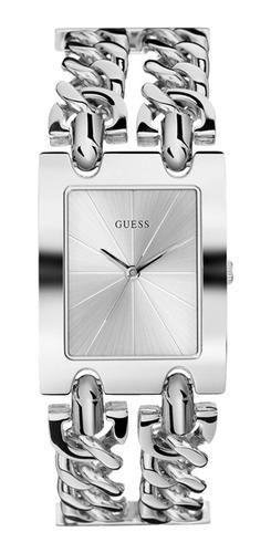 Reloj Guess Mod Heavy Metal Dama W1117l1 Plata