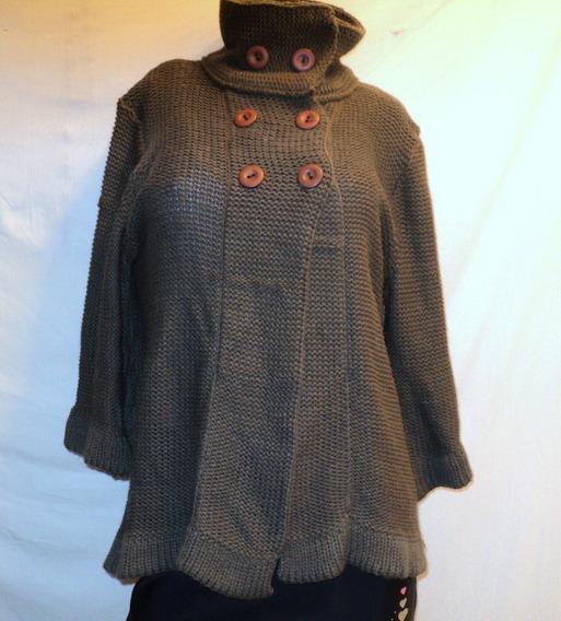 Capa Sweater Lana Poliesters Vintage