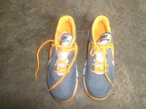 Zapatos Nike Swoosh Usado Una Sola Vez 50 Verdes Talla 44