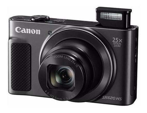 Canon PowerShot SX620 HS compacta preta
