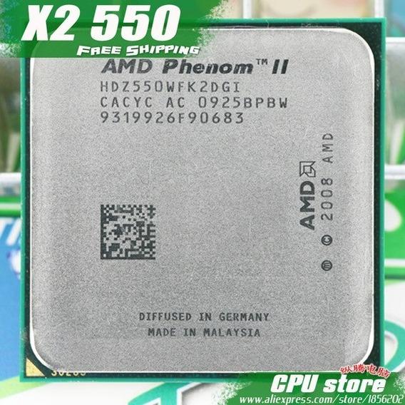 Processador Amd Am2+ Am3+ Phenom Ii 550b 3.1ghz Frete Grátis