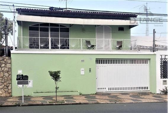 Vendo / Est. Permuta - Casa 03 Dormitórios ( Alto Padrão ) Com 344 M² - Jardim Campos Elíseos - Campinas/sp - Ca10545