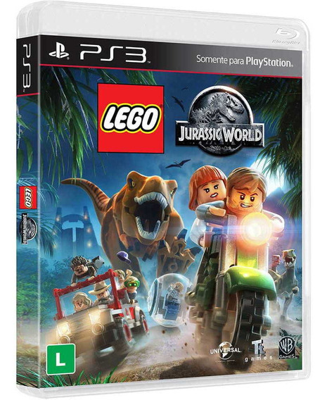 Game Lego Jurassic World - Ps3