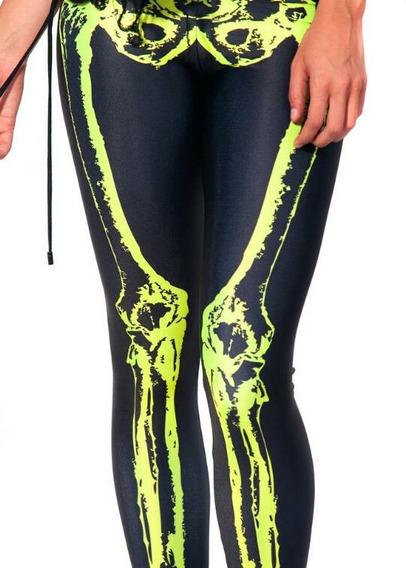 Leggings/calza Simil Blackmilk - Bones Huesos