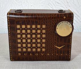 Rádio Bulova A Válvula - Made In Usa De 1957 - Veja Vídeo