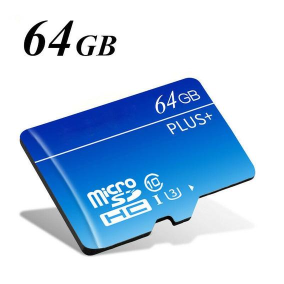 Cart?o De Memoria Micro Sd Hc Com Adaptador 64gb