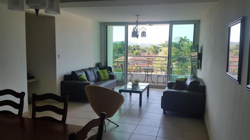 Venta De Apartamento Amoblado En Ph Clayton Park 20-2530