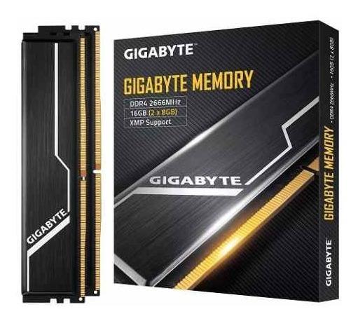 Memoria Ram Gigabyte 16gb Ddr4 2666mhz 2x8 Dimm