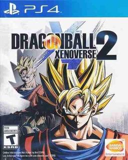 Juego Ps4 Dragon Ball Xenoverse 2