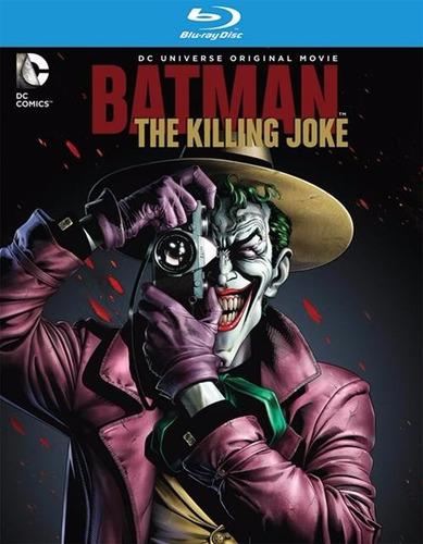 Blu-ray + Dvd Batman The Killing Joke / La Broma Asesina