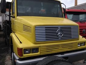 Mercedes Benz 1418 Ano 1991 Truck Carroceria Madeira