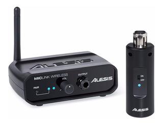 Sistema De Microfono Inalambrico Alesis Miclink Wireless